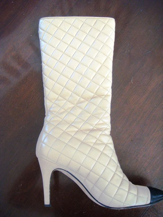 Chanel Quilted Boots Catawiki