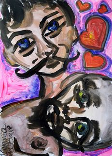 Original; Margarita Bonke - Erotic Love Art - 2016
