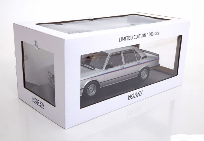 Norev - Scale 1/18 - BMW M535i E12 1980, Color Silver - Catawiki