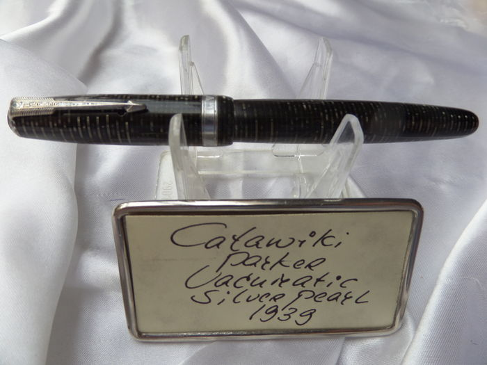 Parker Vacumatic Silver Pearl 1939 fountain pen