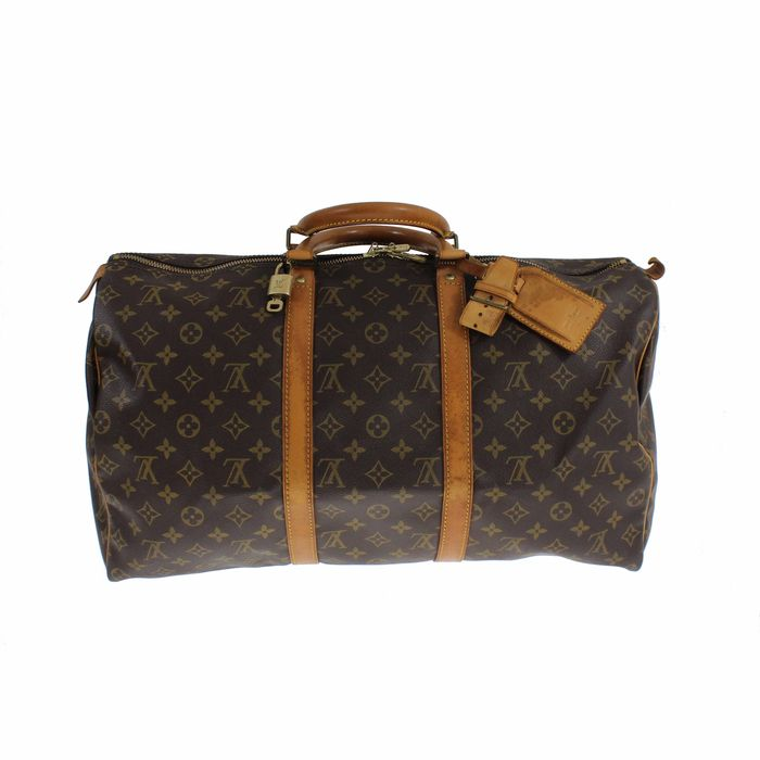 louis vuitton monogram keepall 50 reisetasche catawiki. Black Bedroom Furniture Sets. Home Design Ideas
