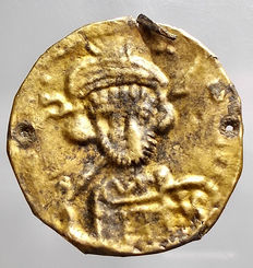 Byzantine Empire - Byzantine Bracteate. 7th century AD. Very Rare