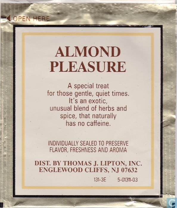 Almond pleasure tea galleries 42