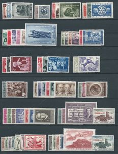 Belgium 1954/1957 - collection between OBP 938 and 1036.