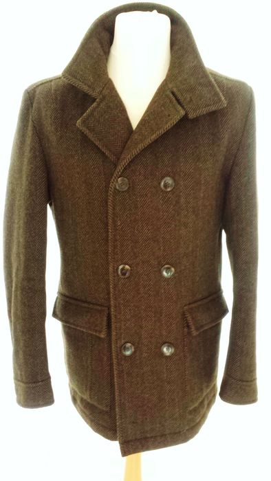 Austin Reed Tweed Pea Coat Catawiki