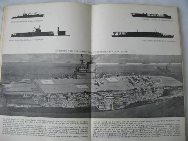 Maritime; Lot with 2 editions about the war on sea - 1941/1945