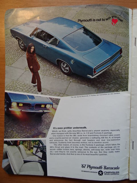 1967 / 1968 - L\' AUTO-JOURNAL, MOTOR, ROAD & TRACK, CAR and DRIVER ...