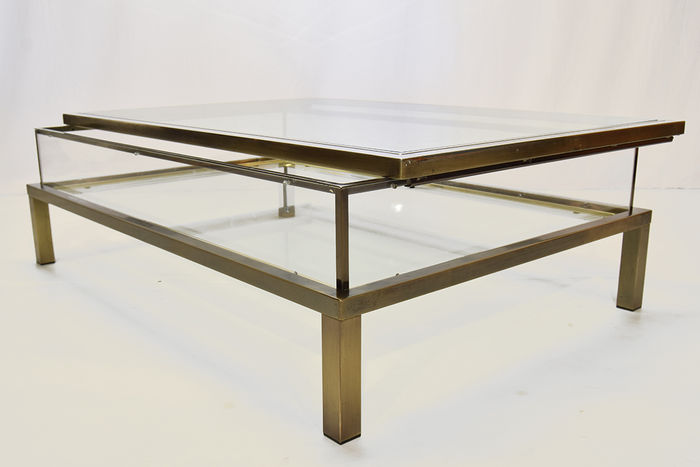 Maison Jansen Sliding Top Coffee Table
