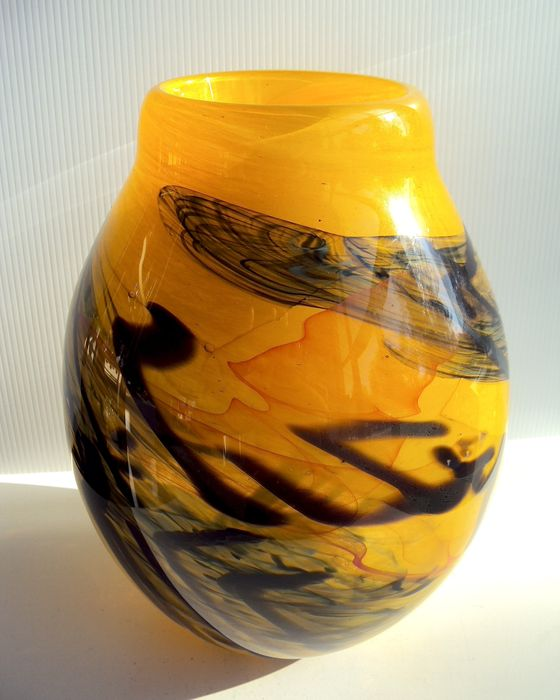 Maxence Parot - Large unique vase (signed/dated)