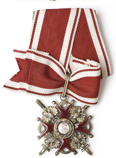 Badge of the Order of St. Stanislav 3st. with swords