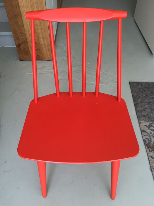 Awe Inspiring Folke Palsson Voor Hay Chair J77 In Red Catawiki Dailytribune Chair Design For Home Dailytribuneorg