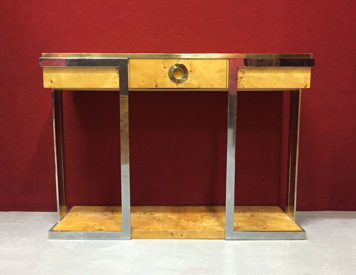 Willy rizzo by mario sabot console table alveo range for Mobili willy rizzo