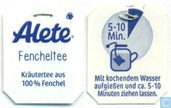 Tea bags and Tea labels - Alete - Fencheltee