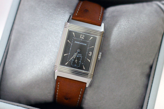 jaeger watches lecoultre medium reverso classic en duetto