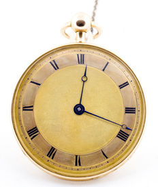 Gillet l'ainé (Clermont, France). Gentlemen's pocket watch. Year 1820.