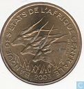 Central African States 25 francs 2003