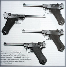 The Wehrmacht P08 Luger Pistol - WWII