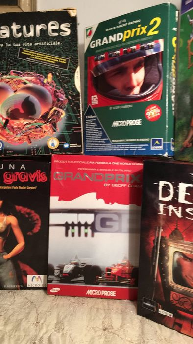 Lot of 8 vintage PC games - all Big Box versions - 1995/2001