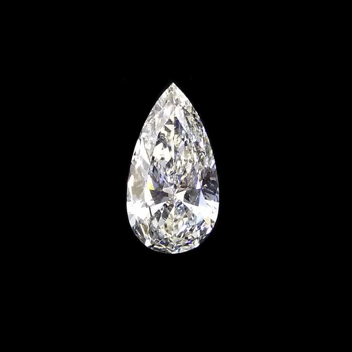 GIA 0.98 ct  J   SI1 pear brilliant cut diamond