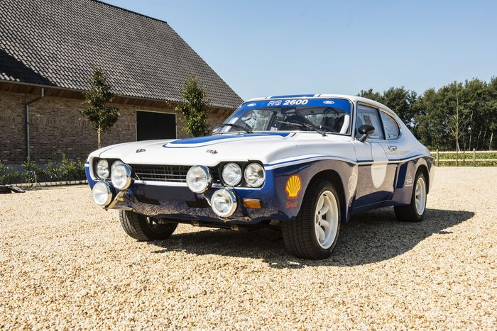 ford capri rs 2600 rally version 1970 catawiki
