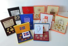 World – Pattern sets from various European countries (10 different sets) 2003–2005