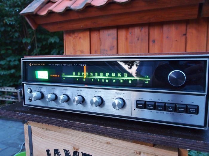 Kenwood KR-4200 vintage 1973 Stereo Receiver in concours condition