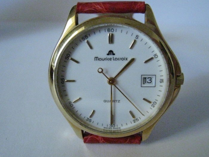 MAURICE LACROIX Classic. Men's wristwatch, year 1996.