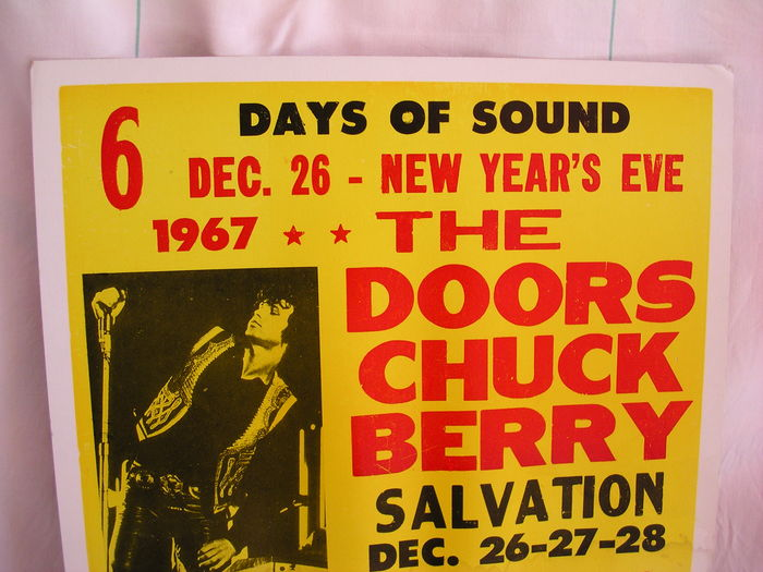 Limited edition original poster of the doors to announce for Door 7 days to die