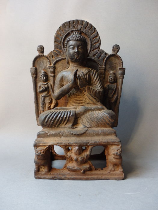 Buddha in lotus posture – China – late 20th century