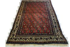 Wonderful Persian carpet 170 x 110cm. Middle of the 20th century