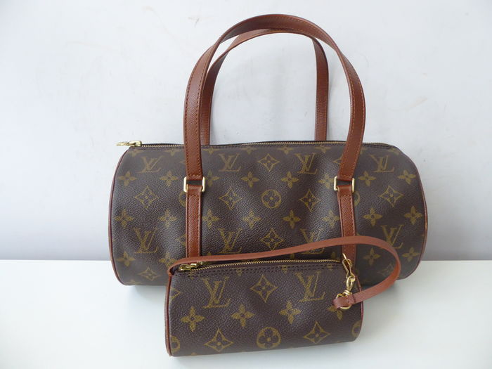 68c86001b Louis Vuitton Papillon – Sac à main avec pochette. - Catawiki