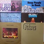 "Check out our 6 early classic Deep Purple albums (7lp's), including double live album ""Made in Japan"" all VG+/VG+"