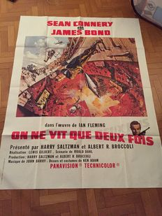 James Bond - You Only Live Twice - Original French poster - size 120x160 cm - Sean Connery