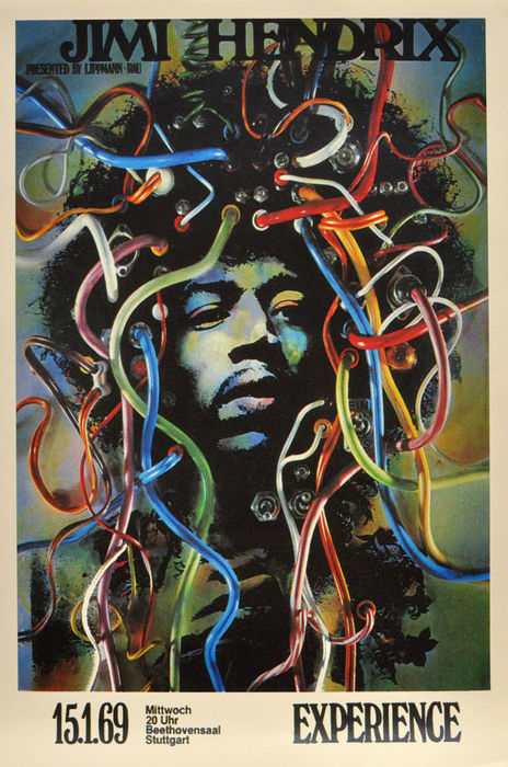 concert posters 10 x reproductions jimi hendrix the who
