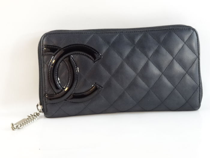 217218673aee57 Chanel Cambon – wallet/purse - Catawiki