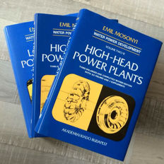 Emil Mosonyi - Low-Head Power Plants - 3 Volumes - 1987/1991