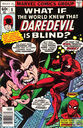 What if the world knew the Daredevil is blind?