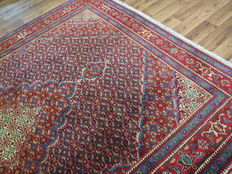 Wonderful Persian carpet Ardebil / Iran 292 x 200 cm, approx. 10-15 years  old, new condition with silk proportion