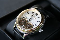 THOMAS EARNSHAW OBSERVAORY 18 kt gilded men's watch - Automatic - New