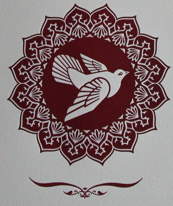 Shepard Fairey (OBEY) - Peace Dove Letterpress