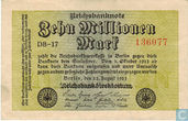 Allemagne 10 Million Mark (P106a)