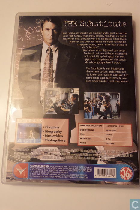 The Substitute Dvd Catawiki