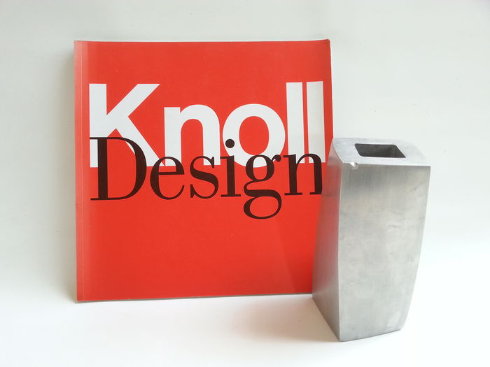frank gehry cube vase signed and associated knoll. Black Bedroom Furniture Sets. Home Design Ideas