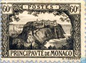 Postage Stamps - Monaco - Rock of Monaco