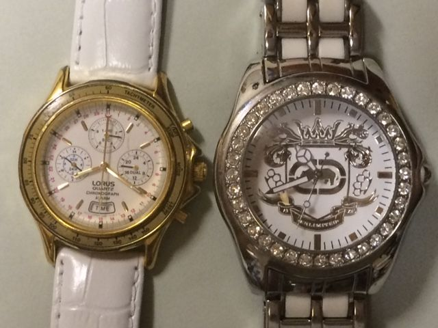 Lot Of 2 Watches From Lorus N945 7a10 And Marc Ecko E95016g6 The