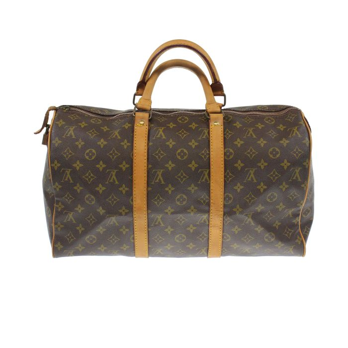 louis vuitton monogram keepall 45 vintage reisetasche catawiki. Black Bedroom Furniture Sets. Home Design Ideas