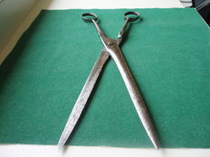 Wrought iron scissors-18th century
