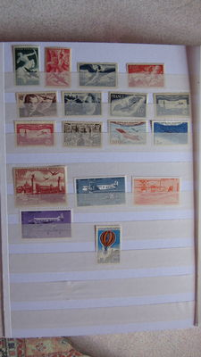 France: Airmail, pre-cancelled, postage due and military franchise.