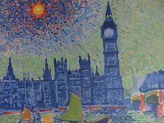 André Derain (after) - Big Ben à Londres