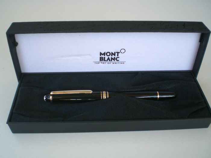Montblanc Fountain Pen With 14k 585 4810 Engraved On The Catawiki